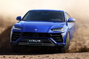 Lamborghini Urus Taking Part In Mysterious All-Road Competition
