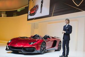 Lamborghini Aventador J: From Blank Sheet to One-off Supercar in 6 Weeks