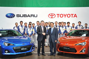 Subaru BRZ and Toyota 86 Roll Off the Assembly Line