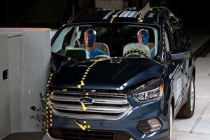 2018 Ford Escape Fails The Front Passenger-Side Crash Test