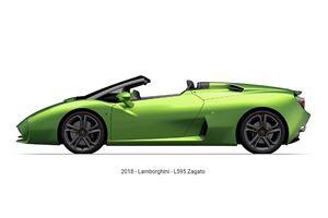 Lamborghini L595 Zagato Roadster Leaks Ahead Of Debut