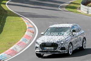 Is This Audi Testing On The Nurburgring The SQ3 Or RSQ3?