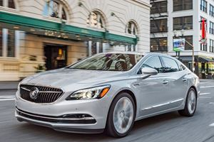 Disappearing Family Sedans: 2018 Buick LaCrosse