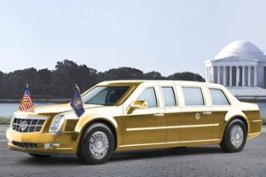 Donald Trump's New Cadillac Limo Is Coming This Summer