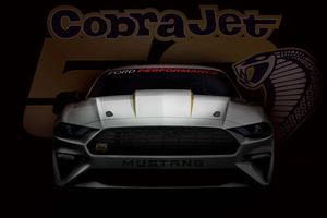 Ford Will Dominate The Strip Again With New Mustang Cobra Jet