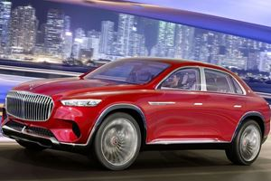 Mercedes-Maybach Ultimate Luxury SUV Concept Leaks Ahead Of Reveal