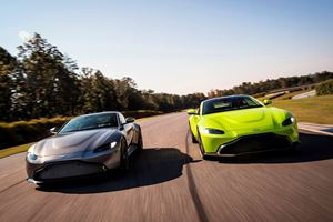 Aston Martin Says Manual Vantage Is 'At Least' 12 Months Away