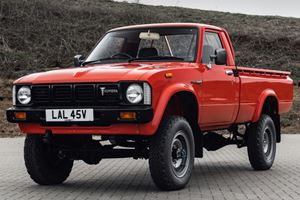 This Might Be The World's Most Pristine Collection Of Toyota Pickups