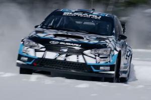 Watch Subaru's Latest WRX STI Rally Car Rip Around A Frozen Wisconsin Lake