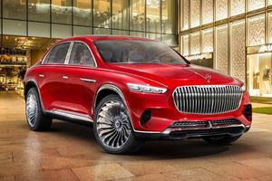 Meet The Maybach Vision Ultimate Luxury Concept SUV