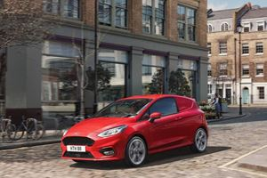 Ford Turns The Fiesta Into The World's Tiniest Van