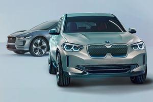 BMW Concept iX3 Arrives With 249-Mile Range To Battle Jaguar I-Pace