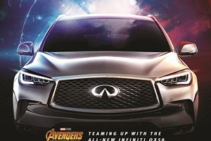 See If You Can Spot The 2019 Infiniti QX50 In Marvel's New Avengers Movie