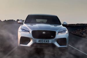 Who Wants To Hear The Jaguar F-Pace SVR In Action?