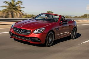 Mercedes SLC Roadster Could Soon Be Scrapped