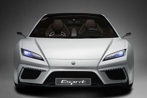 An All-New Lotus Esprit Will Debut In 2020