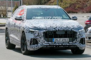 Audi RS Q8 Looks Ready To Battle The BMW X6 M