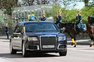 Check Out Vladimir Putin's New Lavish Limousine