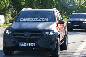 New Mercedes GLE Crossover Caught With Barely Any Camouflage