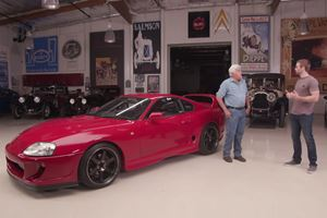 Paul Walker's Brother Stops By Leno's Garage With A JDM 1993 Toyota Supra