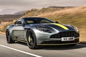 Hop Onboard The Aston Martin DB11 AMR For A High-Speed Autobahn Run