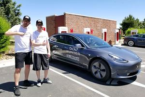 Tesla Model 3 Drives Over 600 Miles On A Single Charge