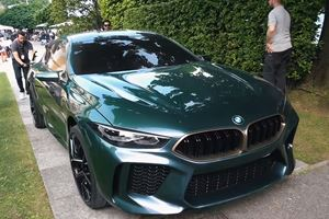Watch The BMW M8 Gran Coupe Concept At The Concorso d'Eleganza
