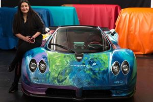 This Hand-Painted Pagani Zonda S Is A 540-HP Piece Of Art