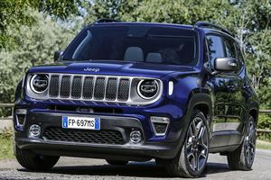 2019 Jeep Renegade Revealed With Minor Nip/Tuck
