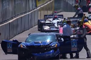 Corvette ZR1 Pace Car Crash Earned Chevy Millions In Exposure