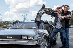 Jay Leno Tests The Back To The Future DeLorean DMC12