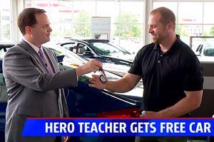 Hero Teacher Who Stopped A School Shooter Receives A Free Car