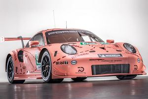A Porsche 911 Painted Like A Pig Wins Its Class In 24 Hours Of Le Mans