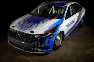 Modified Volkswagen Bonneville Jetta Built To Set New Speed Record