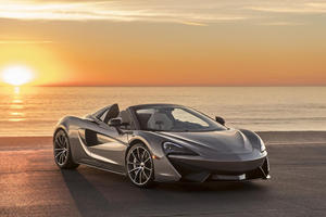 One-Off McLaren 570S Spider Fetches $1 Million For Elton John's Charity