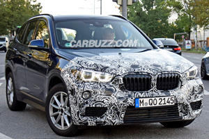 BMW X1 Facelift Caught Cruising City Streets In Germany