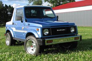 Weekly Craigslist Hidden Treasure: 1986 Suzuki Samurai JX 4x4