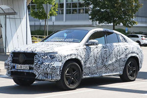 The Next Mercedes-Benz GLE Coupe Still Looks Like The BMW X6