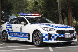 Kia Stinger The Perfect Replacement For Australian Police