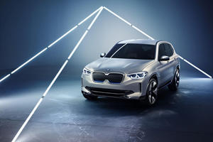 BMW iX3 Will Be Built In China