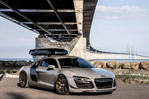 Prepare To Gawk Over The Last Manual Audi R8 Ever Built