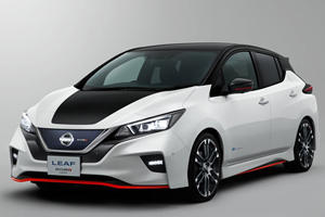 New Long Range Nissan Leaf With 200 Horsepower Is Coming