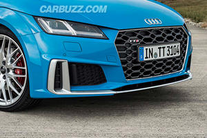 2019 Audi TTS Facelift Leaks With Aggressive Looks
