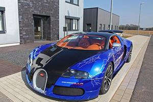 Gemballa Racing's Fast and Furious Bugatti Veyron Sang Noir