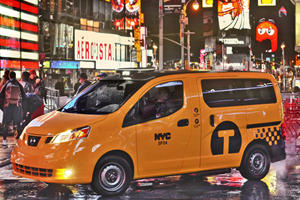 The New York Taxi Premiere in New York (Of Course)
