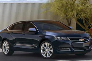2014 Chevrolet Impala Fully Unveiled