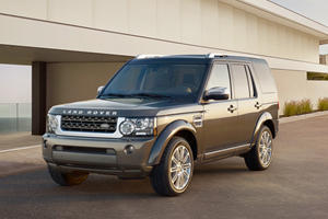 Land Rover LR4 HSE Luxury Limited Edition Presented in New York