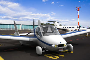 Roadable Aircraft by Terrafugia Touches Down at New York Auto Show