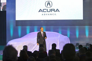 2013 Acura RLX Concept Sedan Boasts New V6 Hybrid System