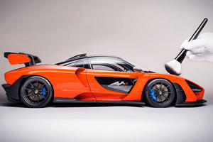 This McLaren Senna Replica Model Is Insanely Detailed